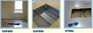 A wide range of systems - CAF600 and Steel