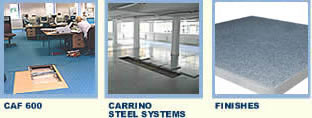 CAF600, Carrino steel systems and finishes